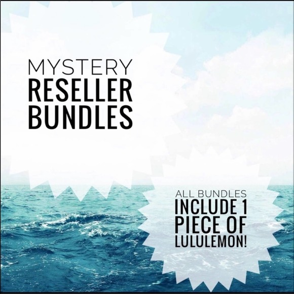 LULULEMON INCLUDED Reseller Mystery Inventory